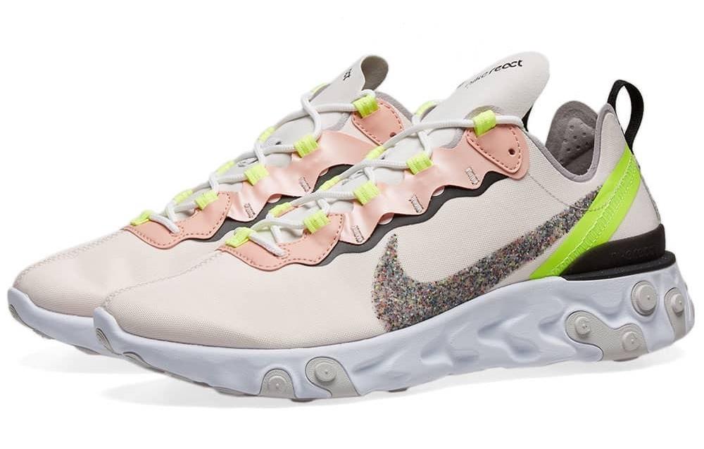 Nike React Element 55 Pink Glitter