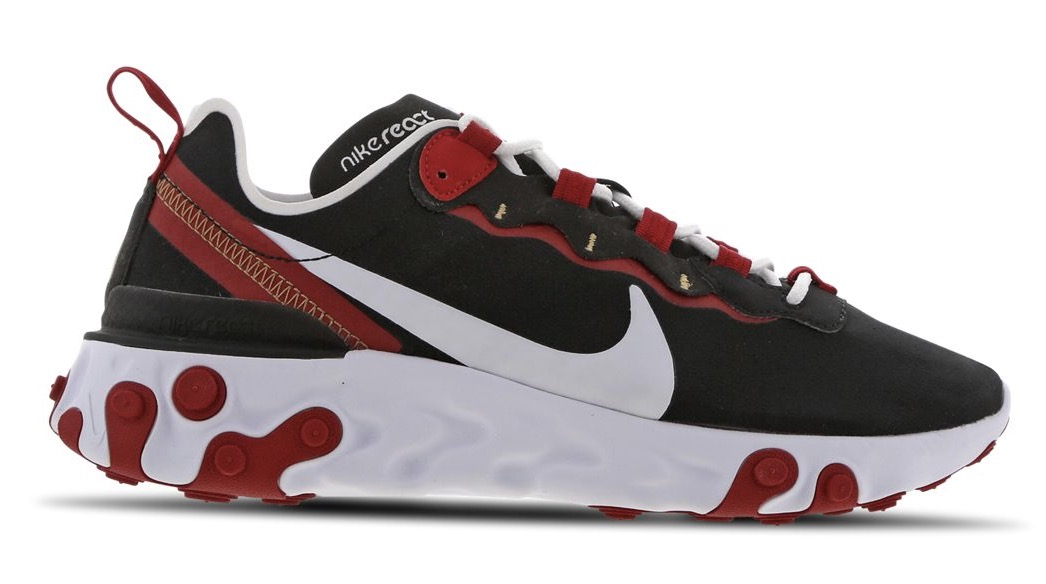 Nike React Element 55 Red black