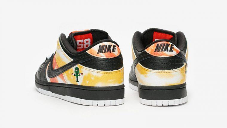 Nike SB Dunk Low Raygun Tie Dye BQ6832-001 back thumbnail image