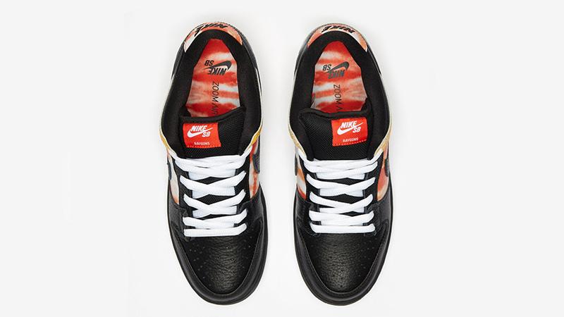 Nike SB Dunk Low Raygun Tie Dye BQ6832-001 middle