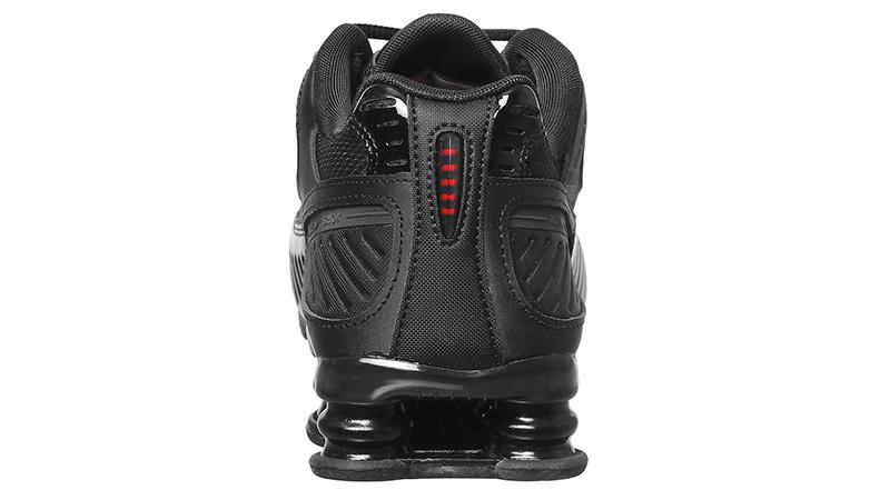 Nike Shox Enigma Black Mono back