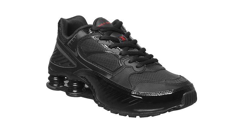 Nike Shox Enigma Black Mono front