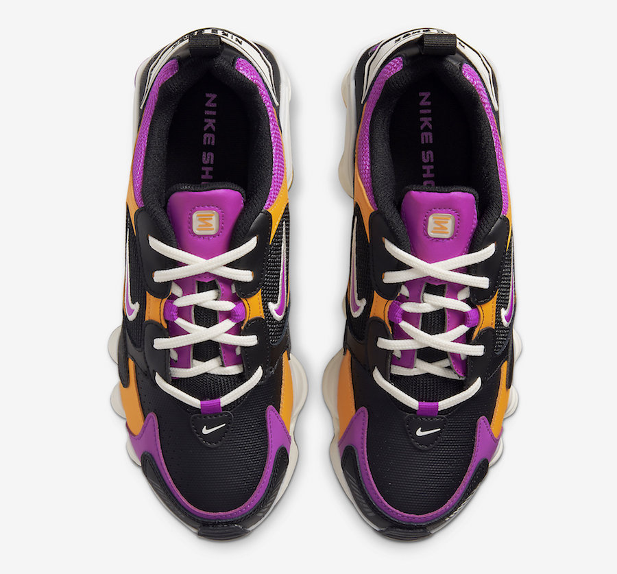 Nike-Shox-Nova-Black-Pink-Orange-AT8046-002-Release-Date-3 laces
