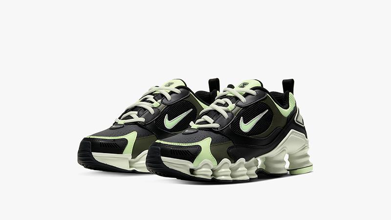 Nike Shox TL Nova Black Volt AT8046-001 front
