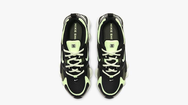 Nike Shox TL Nova Black Volt AT8046-001 middle