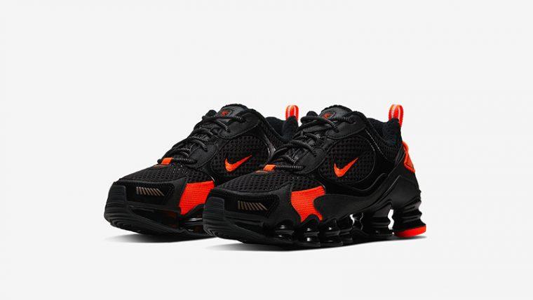 Nike Shox TL Nova SP Black Crimson CK2085-001 front thumbnail image