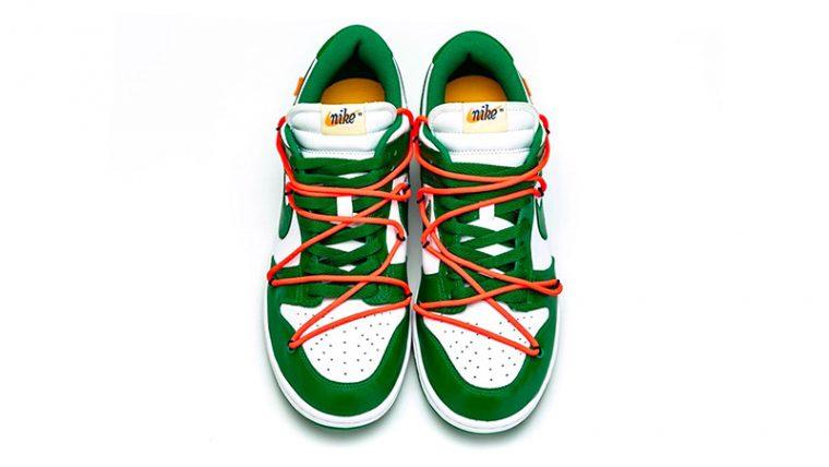 Off-White x Nike Dunk Low Pine Green CT0856-100 side thumbnail image