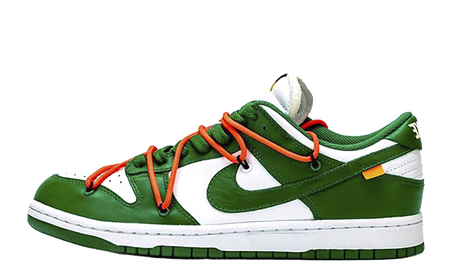 Off-White x Nike Dunk Low Pine Green CT0856-100