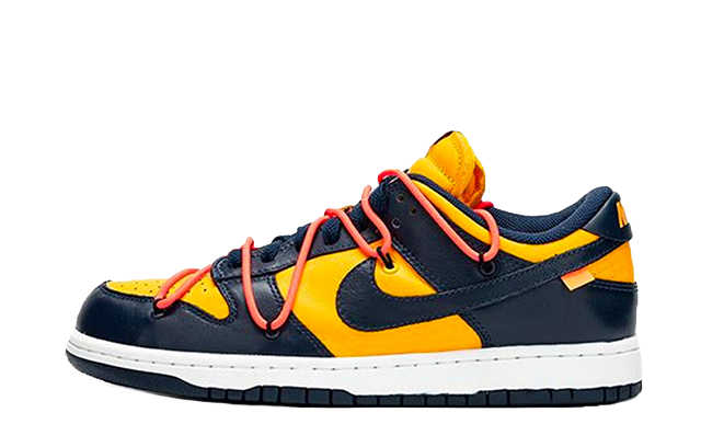 Off-White x Nike Dunk Low University Gold thumbnail image