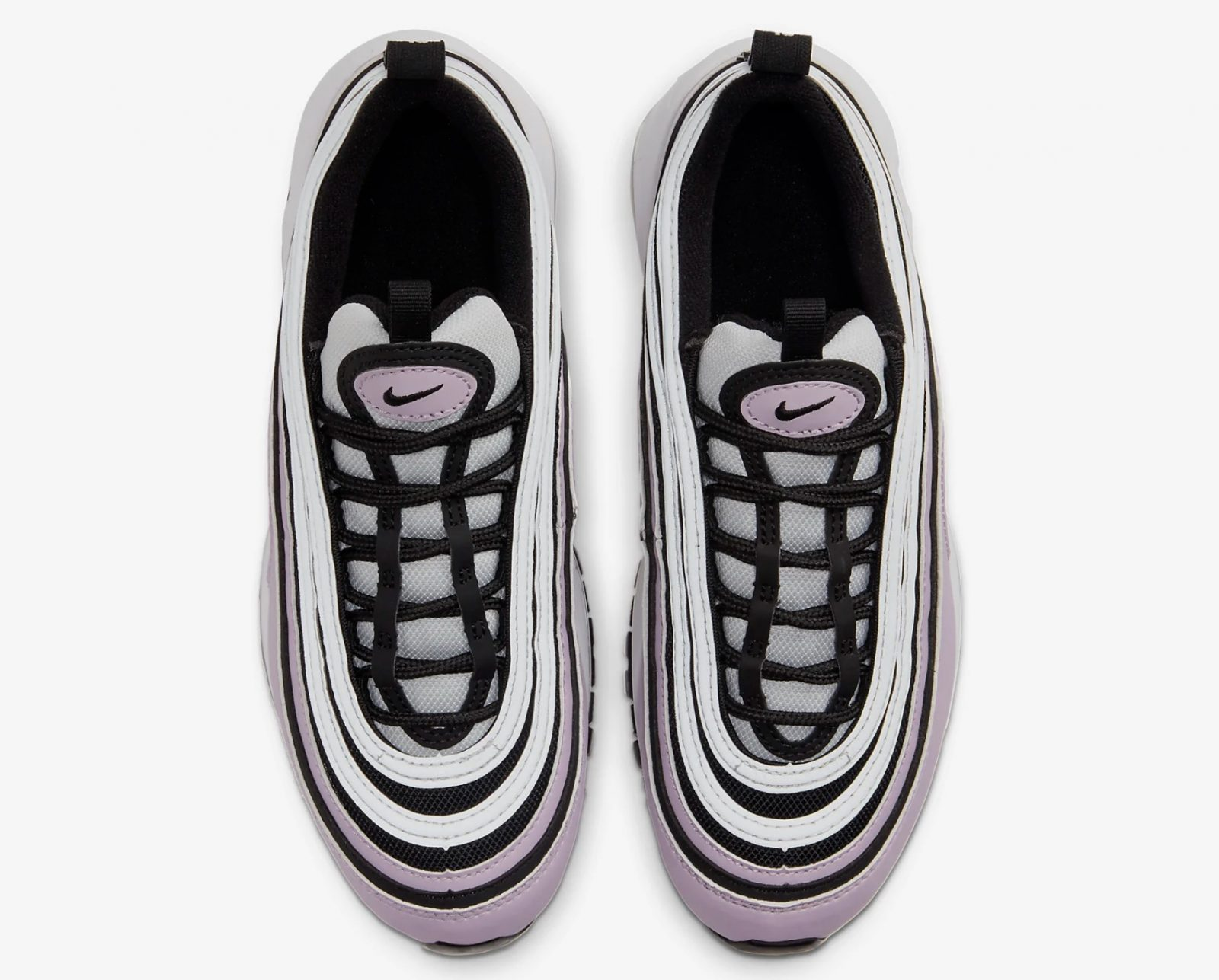 Rock Around The Christmas Tree In These Iced Violet Air Max 97's For UNDER £100 l;aces