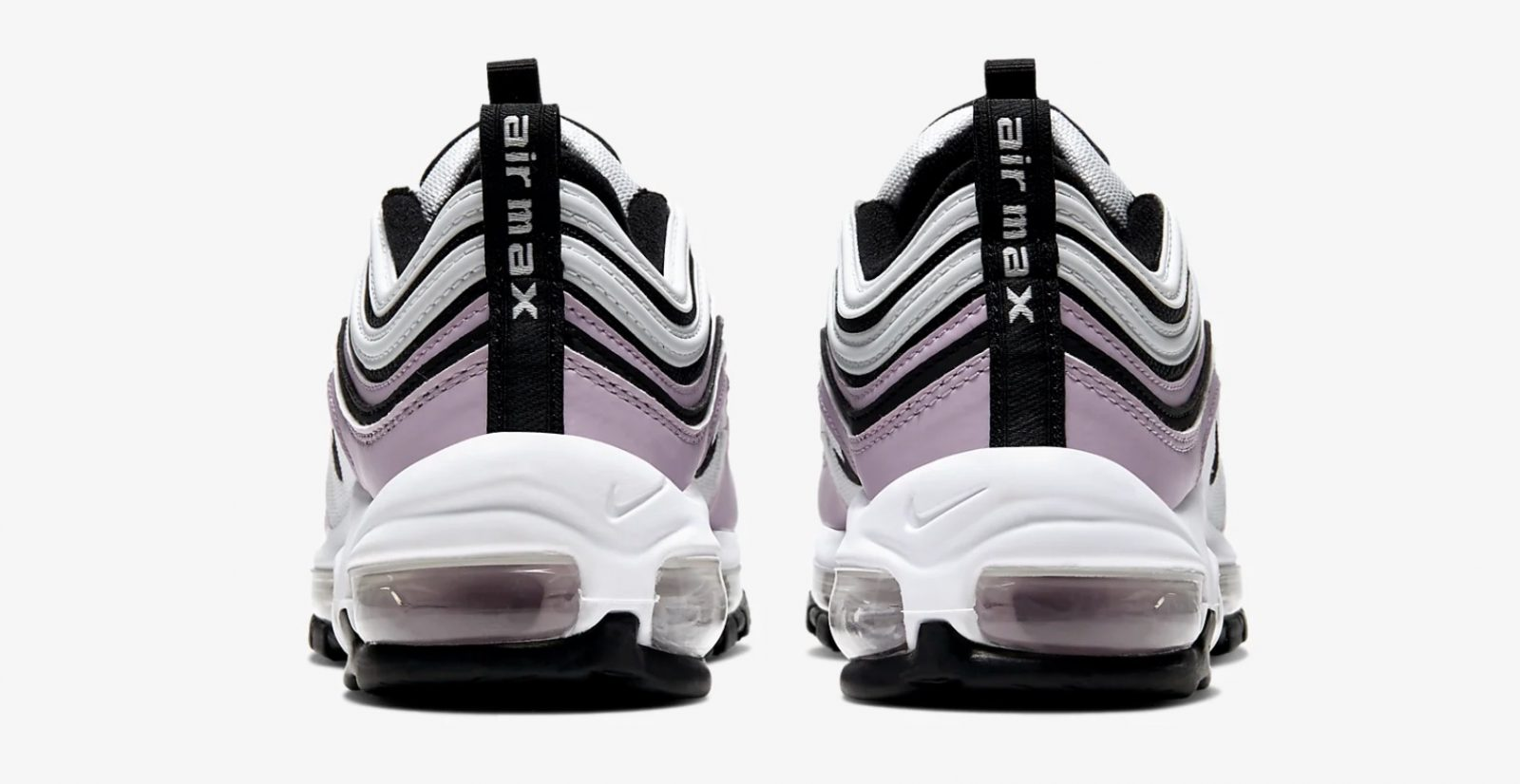 Rock Around The Christmas Tree In These Iced Violet Air Max 97's For UNDER £100 heel
