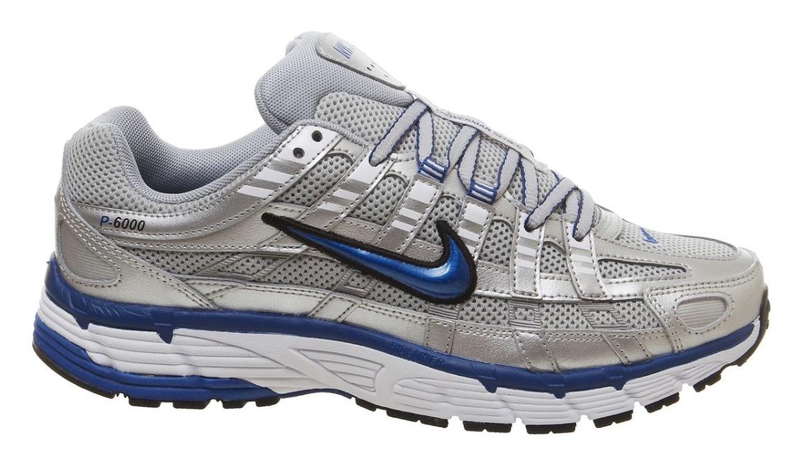 Nike P6000 Silver Blue