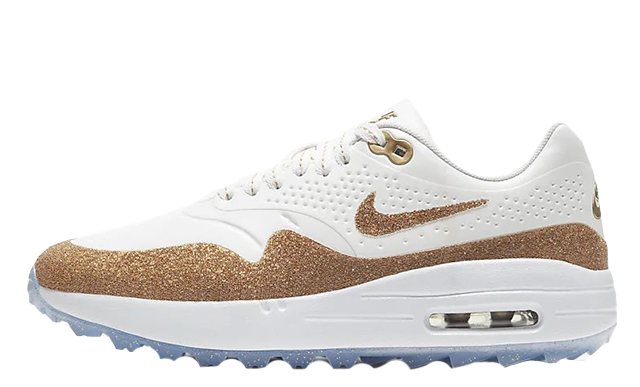 Swarovski x Nike Air Max 1 Golf White Gold BV0658-111