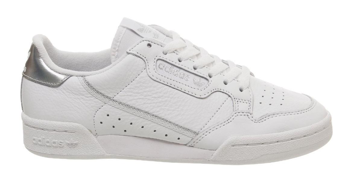 adidas Continental 80 White Silver
