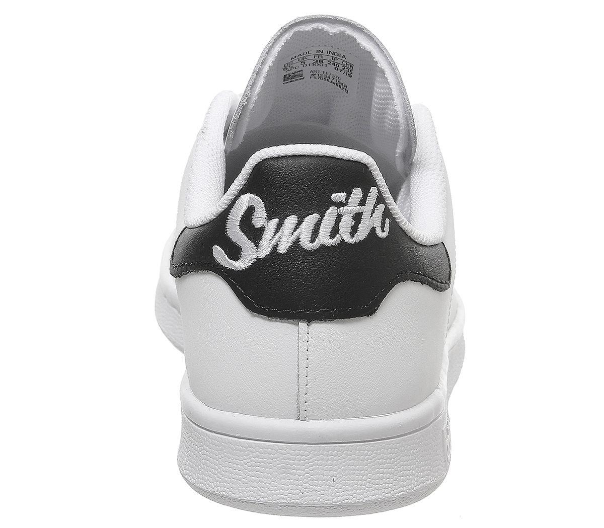 adidas Stan Smith GS White Black 01