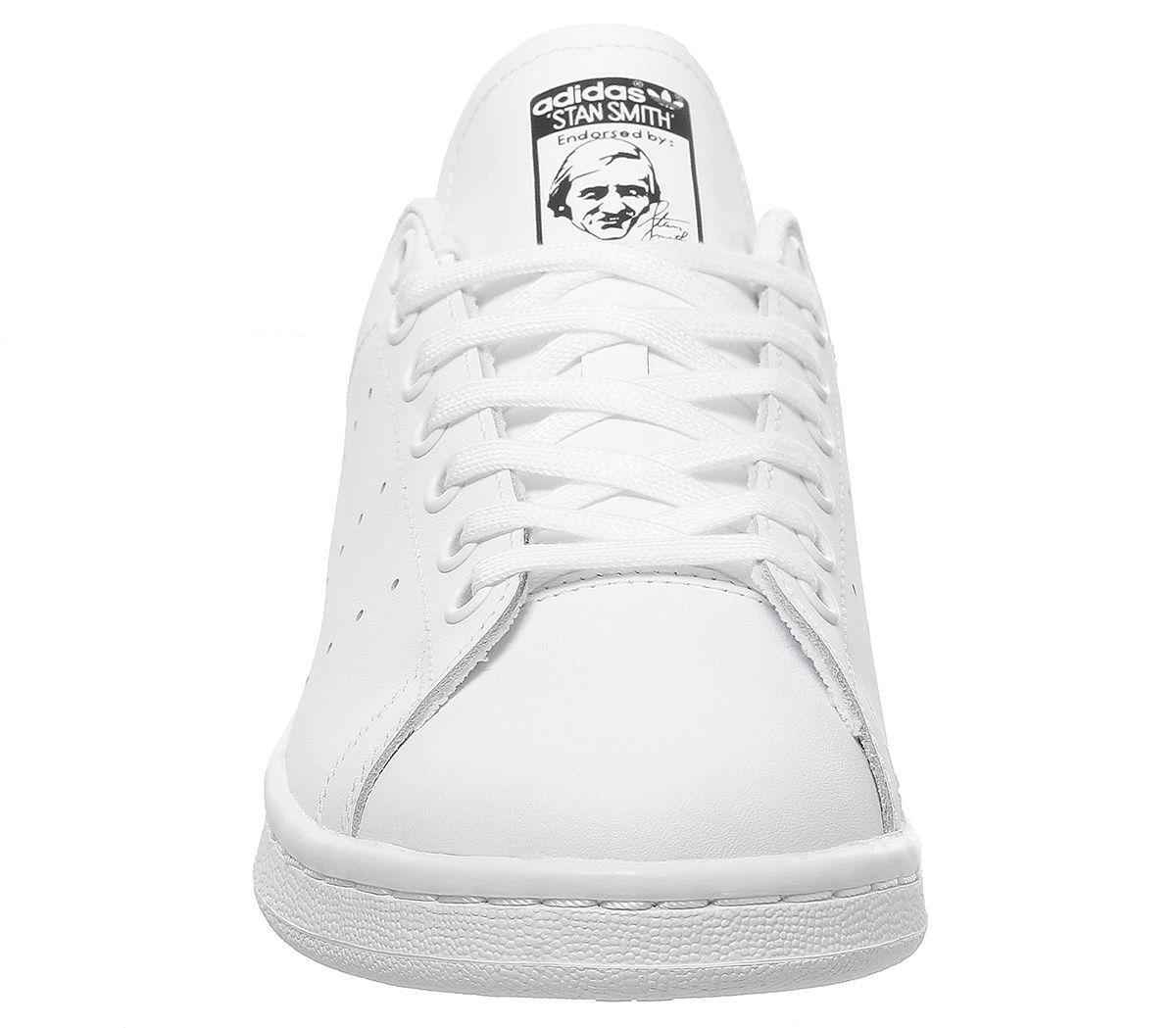 adidas Stan Smith GS White Black 02