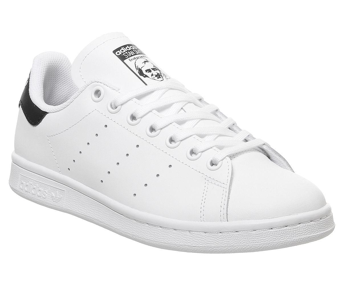 adidas Stan Smith GS White Black 03