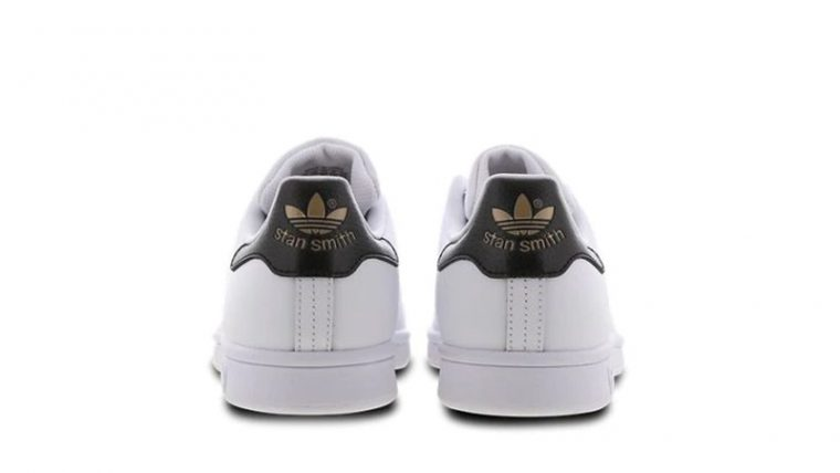 adidas Stan Smith White Black back thumbnail image