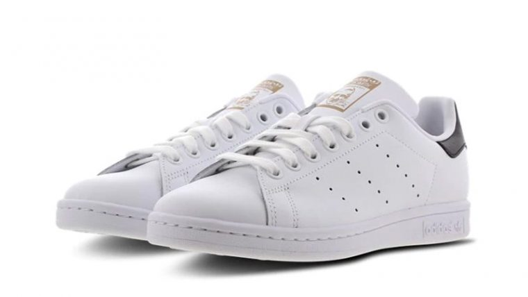 adidas Stan Smith White Black front thumbnail image