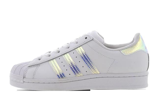 adidas Superstar GS White FV3139