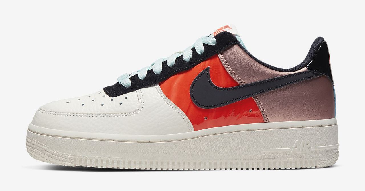 air force 1 bronze red