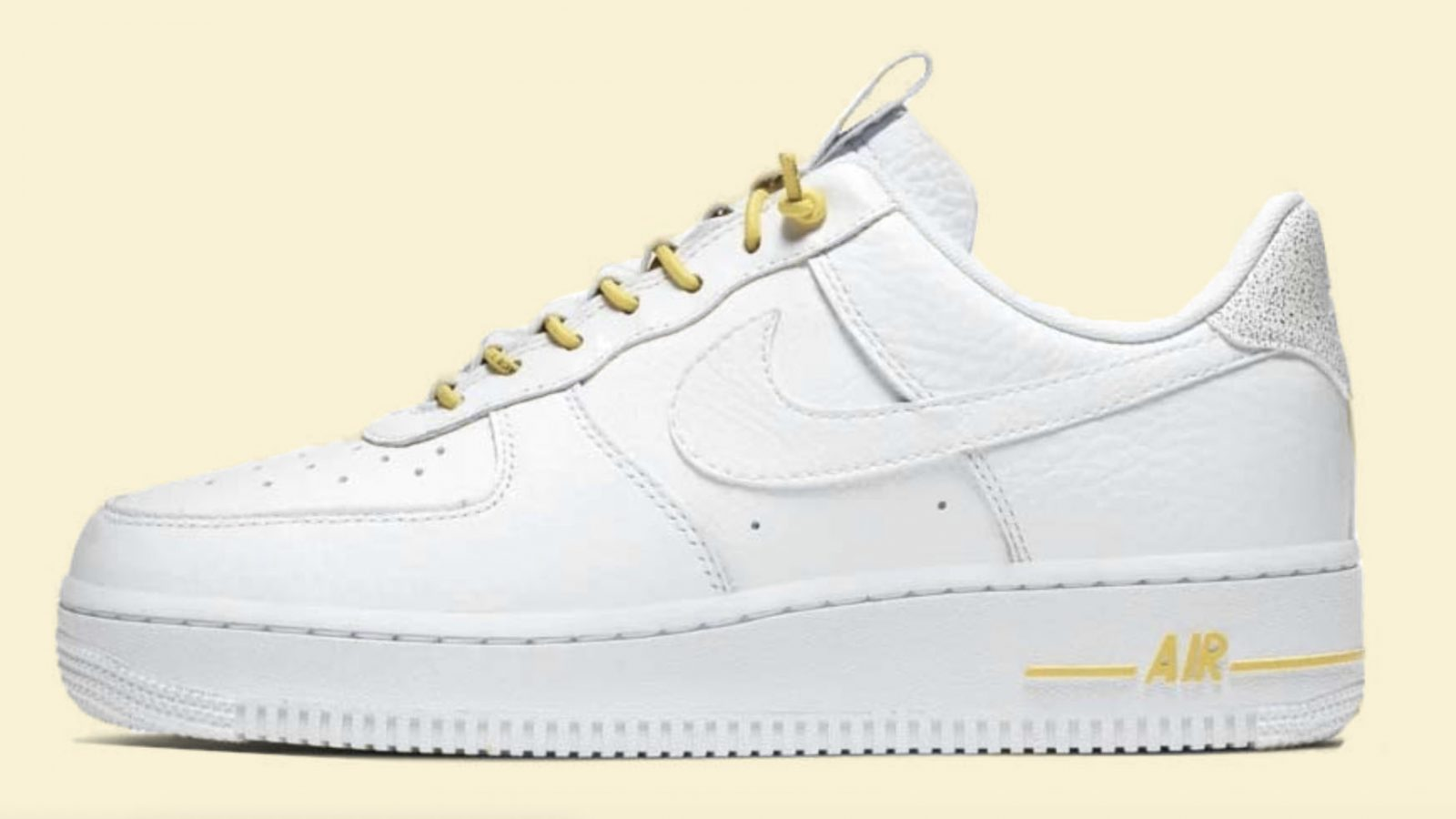air force 1 white yellow