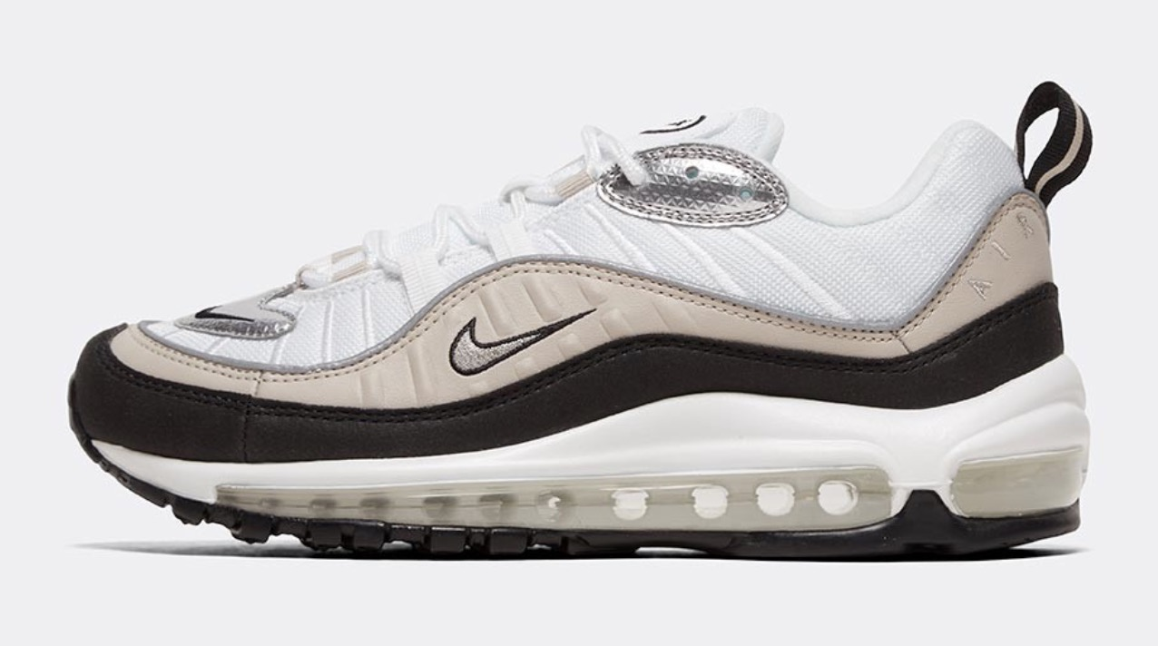 air max 98 gold black