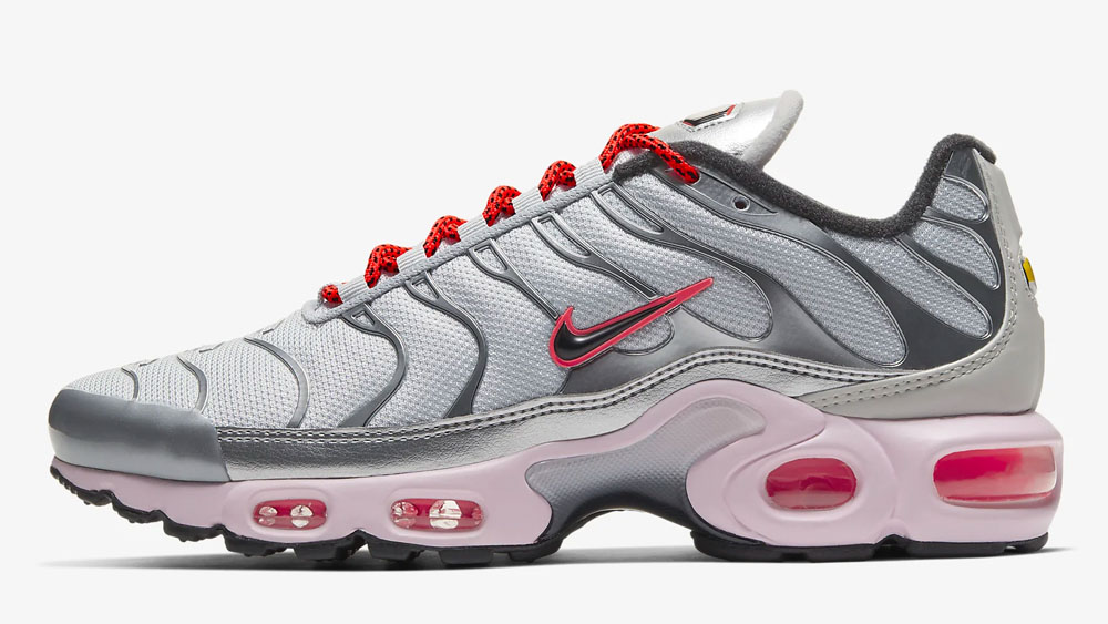 Nike Air Max Plus Silver Red