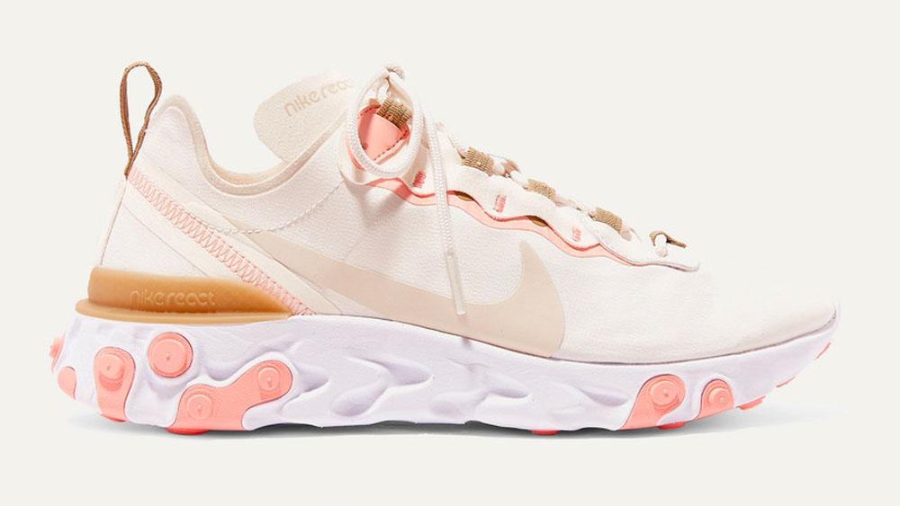 Nike React Element 55 Pink Beige