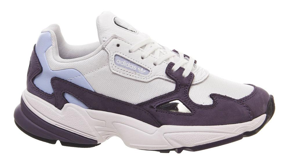 adidas Falcon White Purple