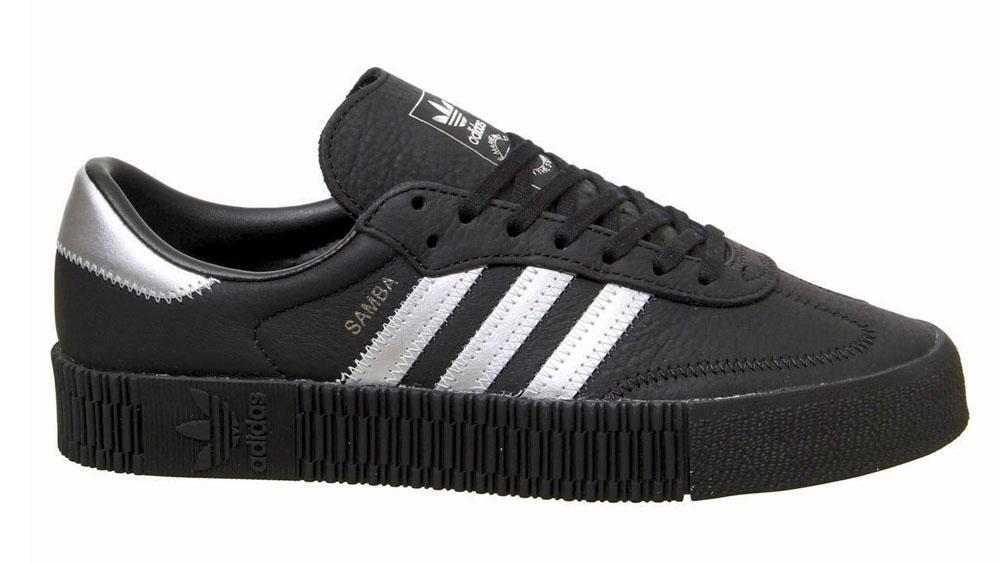 adidas Sambarose Black Silver