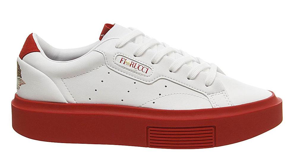 Fiorucci x adidas Sleek Super White Red