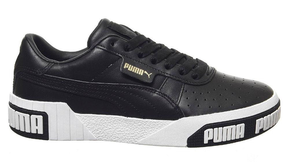 Puma Cali Black White