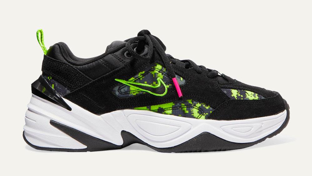 Nike M2K Tekno Green Glitch