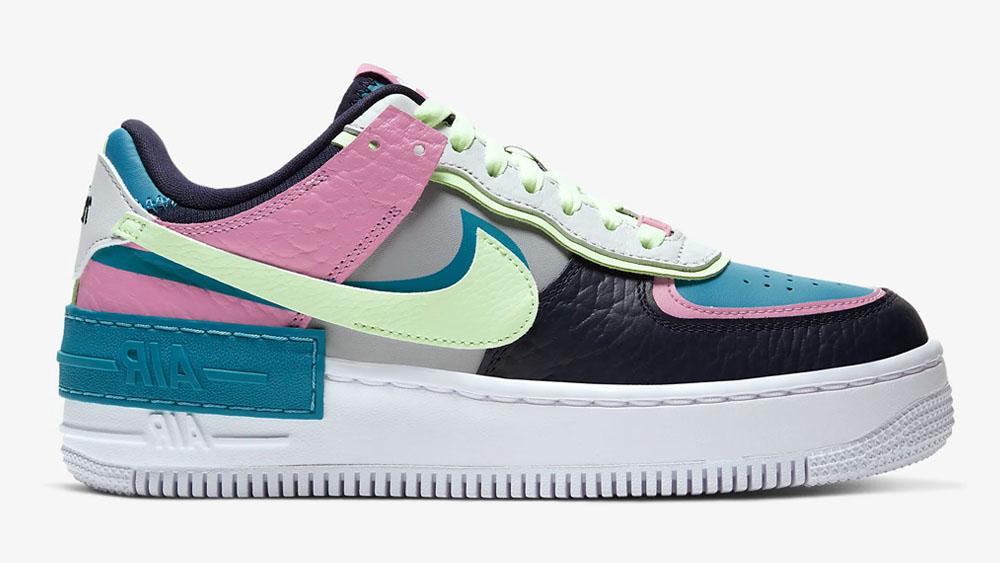 Nike Air Force 1 Shadow Blue Pink