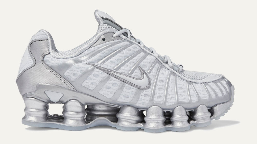 Nike Shox TL Sillver White