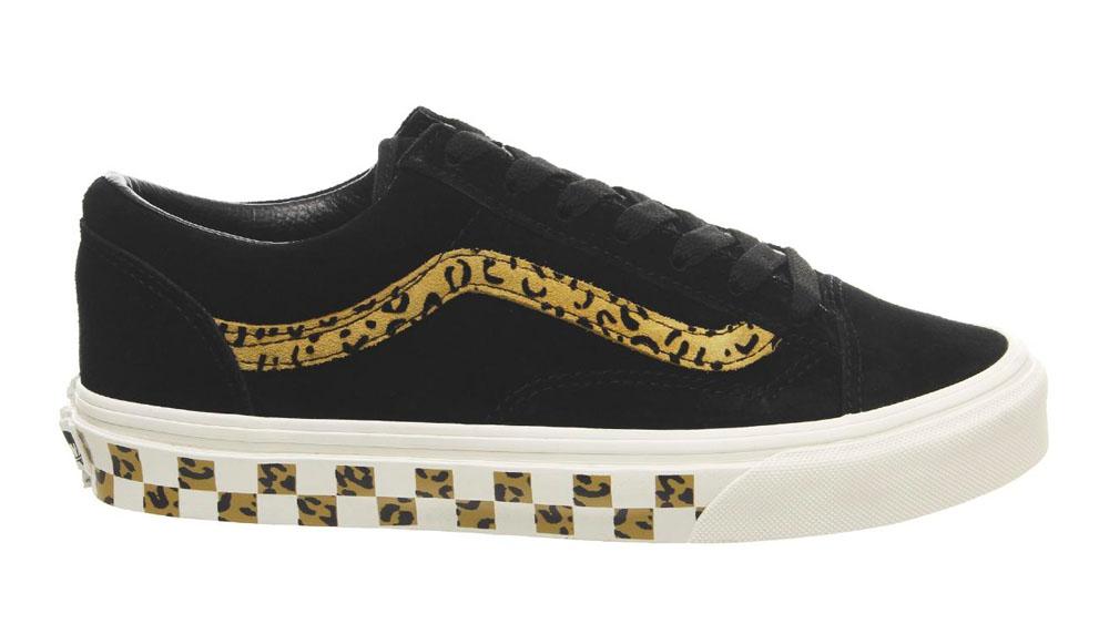 Vans Style 36 Black Leopard