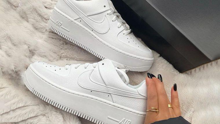 The Best Platform Sneakers: 11 Air Force 1 Sage Colourways
