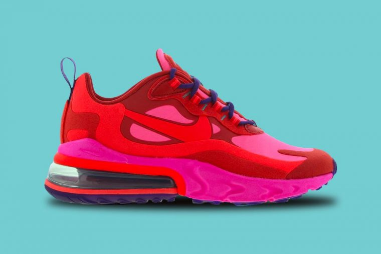 Nike Air Max 270 React Red Pink