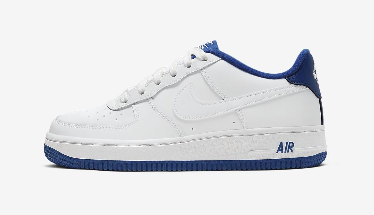 Air Force 1 Blue Royal. white