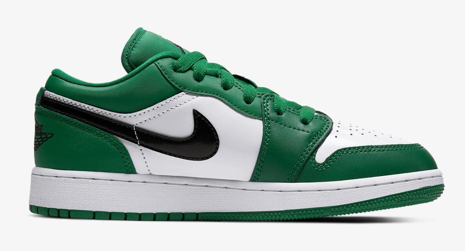 Air Jordan 1 Low Pine Green 553560-301 right