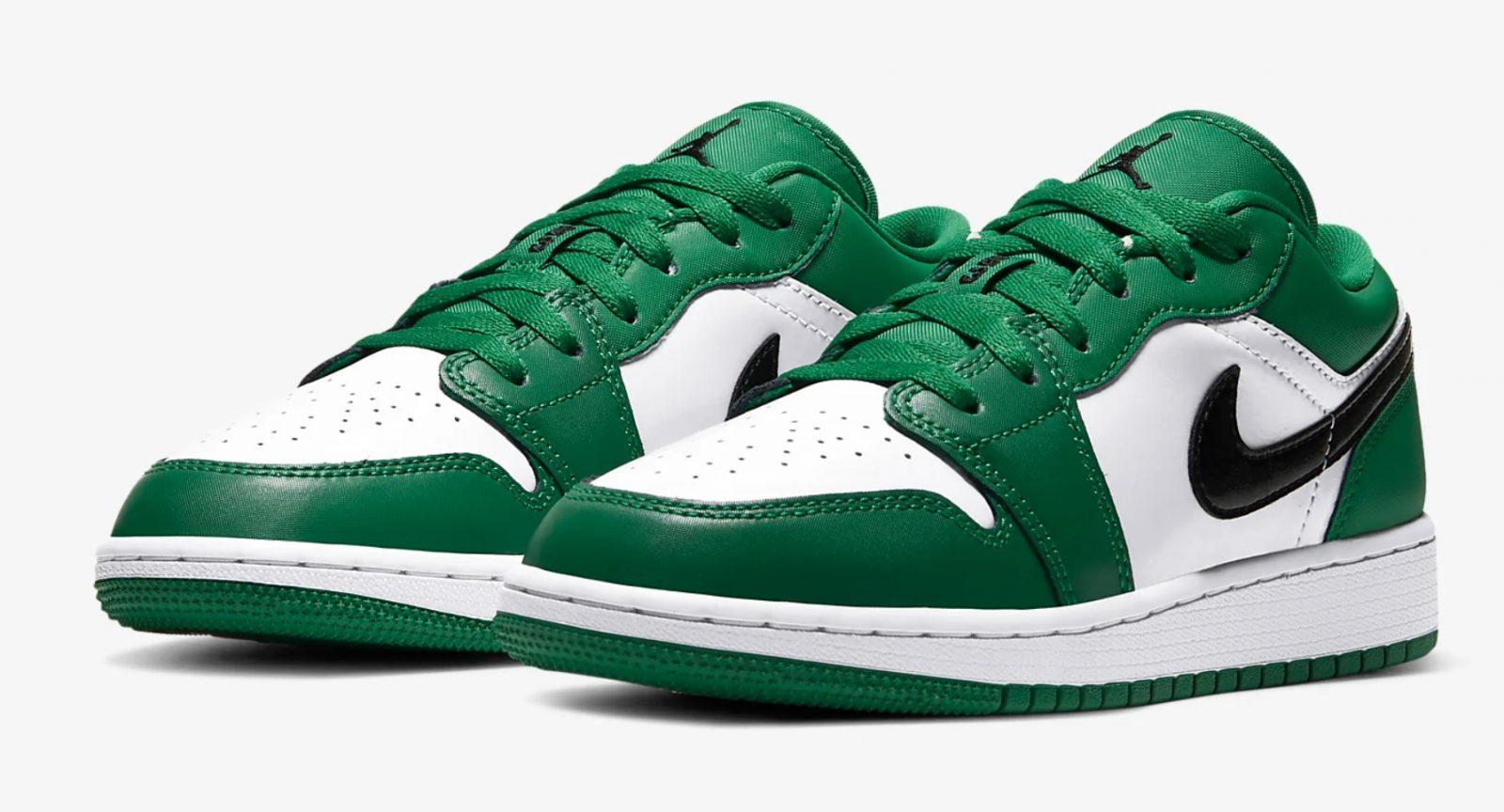 Air Jordan 1 Low Pine Green 553560-301