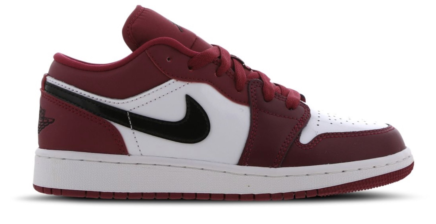 Air Jordan 1 Low Red Black