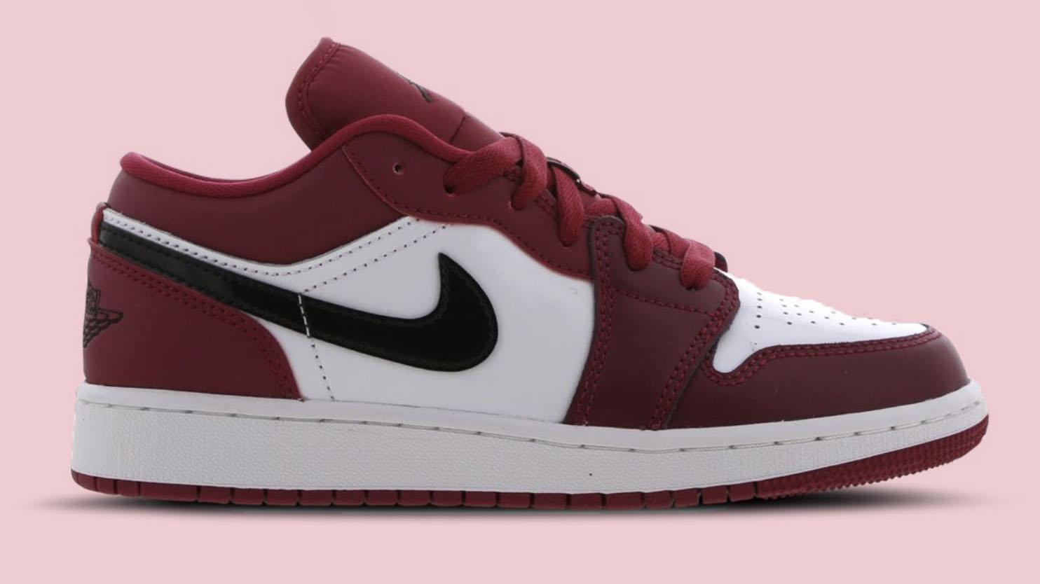 Air Jordan 1 Low Red Black copy