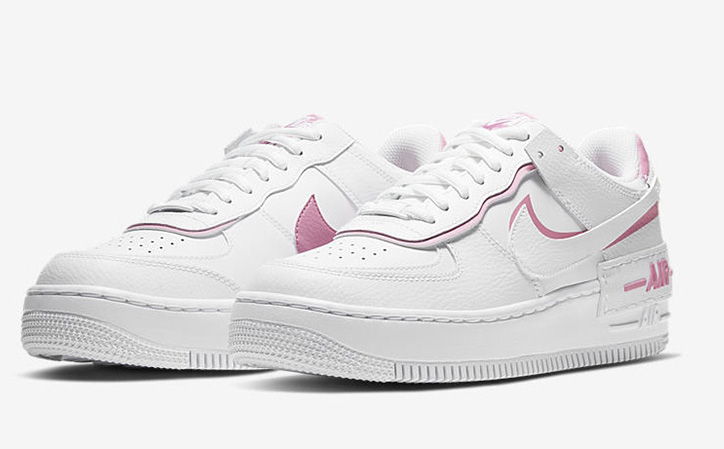 Air force 1 shadow pink white