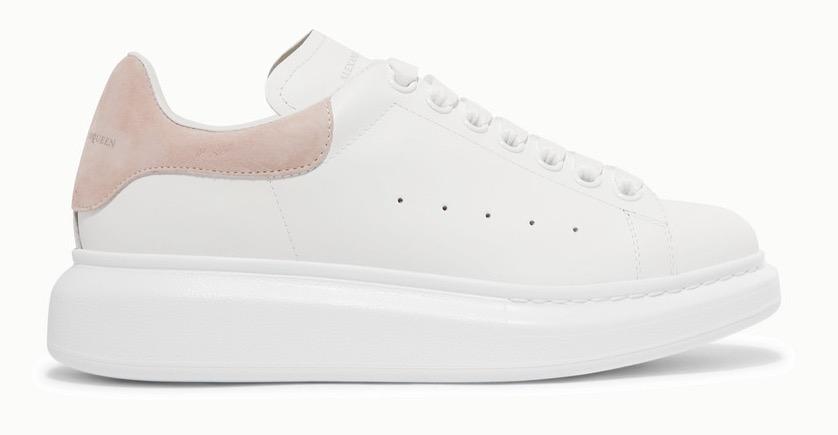 Alexander McQueen Runway White Pink