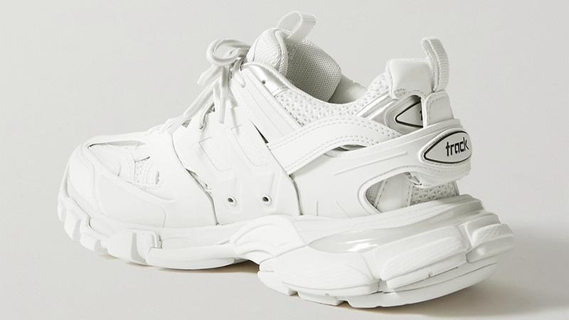 Balenciaga Track 2 White back