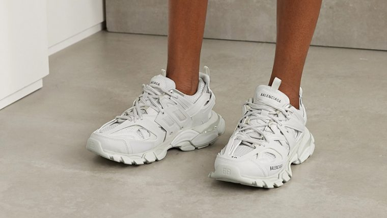 Balenciaga Track 2 White on foot thumbnail image