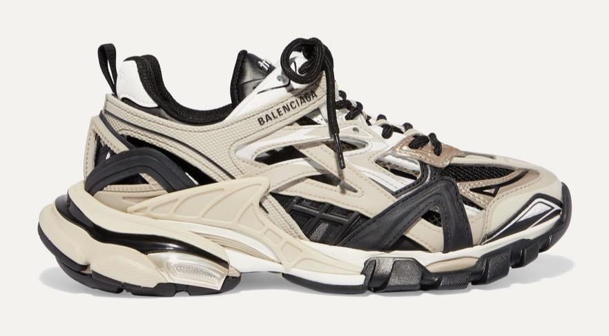 Balenciaga Track Black Beige