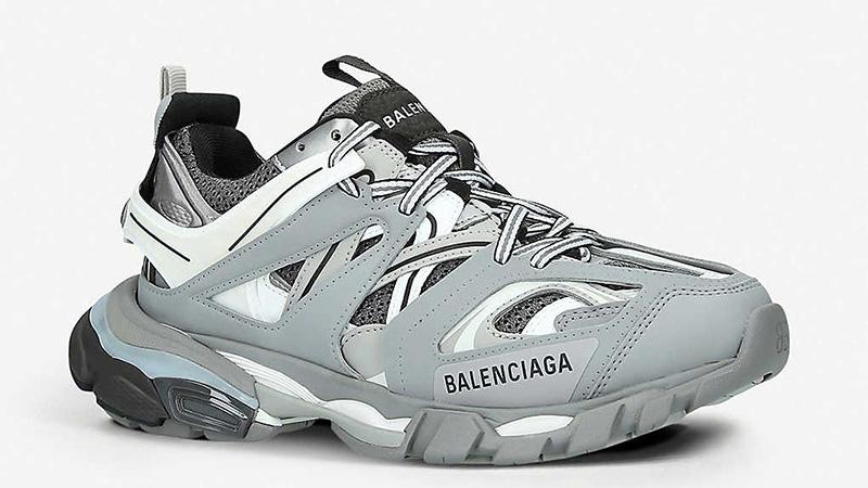 Balenciaga Track Grey front